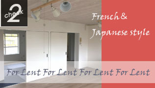 French & Japanese style